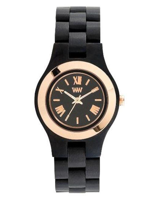 WeWood | Metallic Criss Wood Bracelet Watch | Lyst