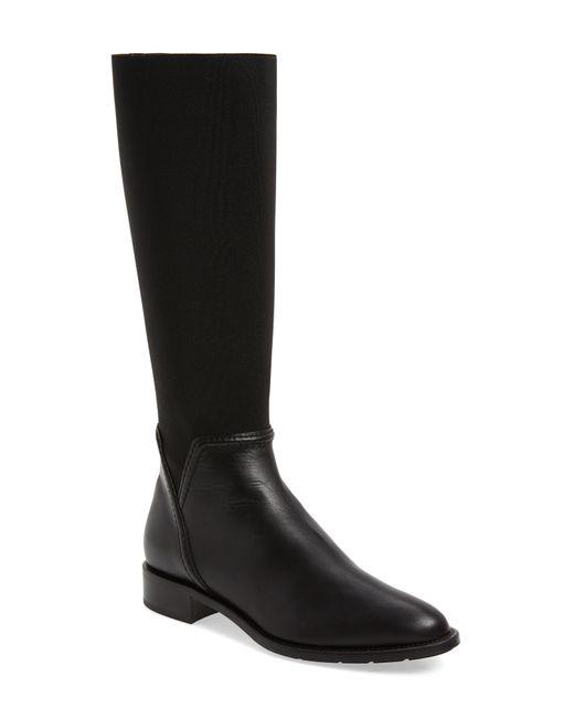 Aquatalia - Black Nanina Water Resistant Riding Boot - Lyst