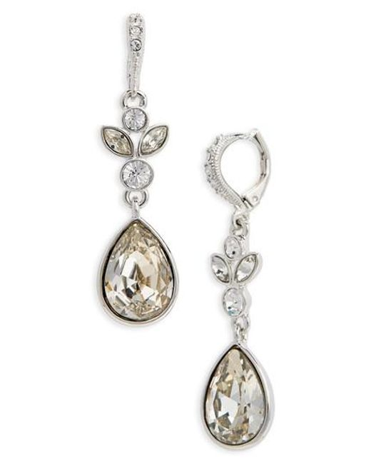 Givenchy | Metallic Sydney Teardrop Earrings | Lyst