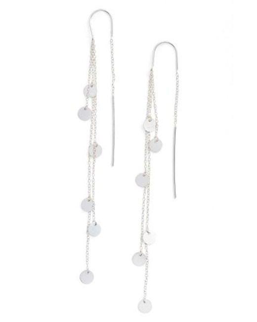 Argento Vivo | Metallic Cascading Drop Earrings | Lyst