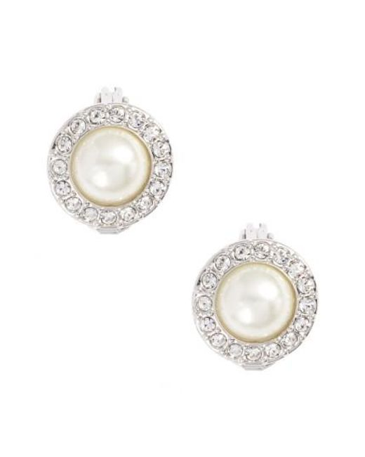 Givenchy | Metallic Imitation Pearl Stud Earrings | Lyst