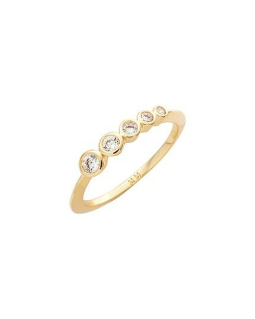 Melinda Maria | Metallic Julia Cluster Ring | Lyst