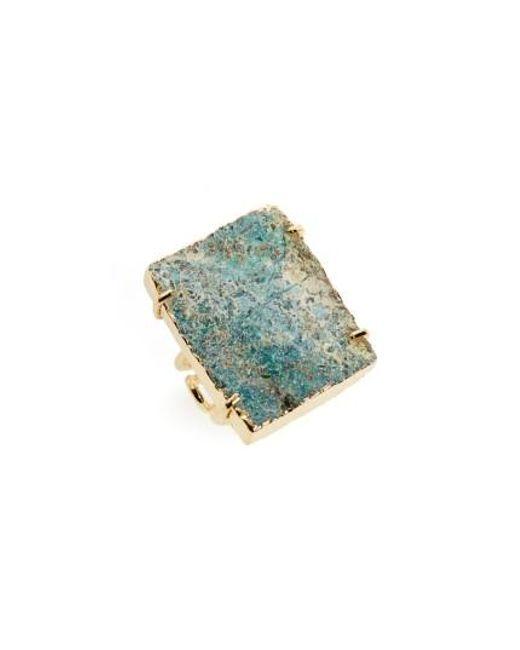 Nakamol | Blue Raw Quartz Ring | Lyst