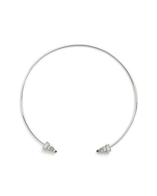 Rebecca Minkoff | Metallic Open Collar Necklace | Lyst