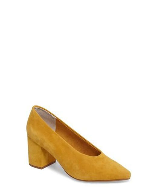 Seychelles | Brown Rehearse Pointy Toe Pump | Lyst