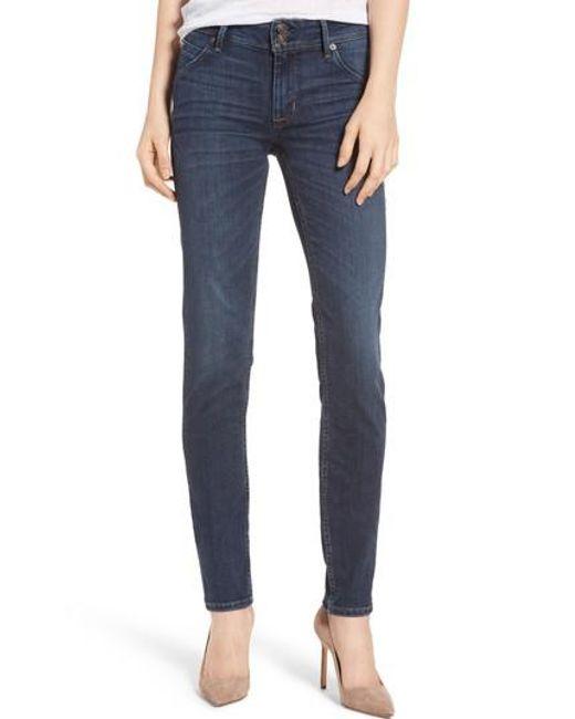 Hudson | Blue Collin Skinny Jeans | Lyst
