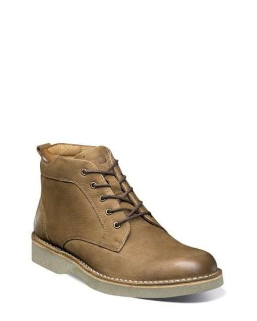 Florsheim   Brown Navigator Plain Toe Boot for Men   Lyst