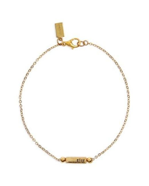 Half United | Metallic Florence Bracelet | Lyst