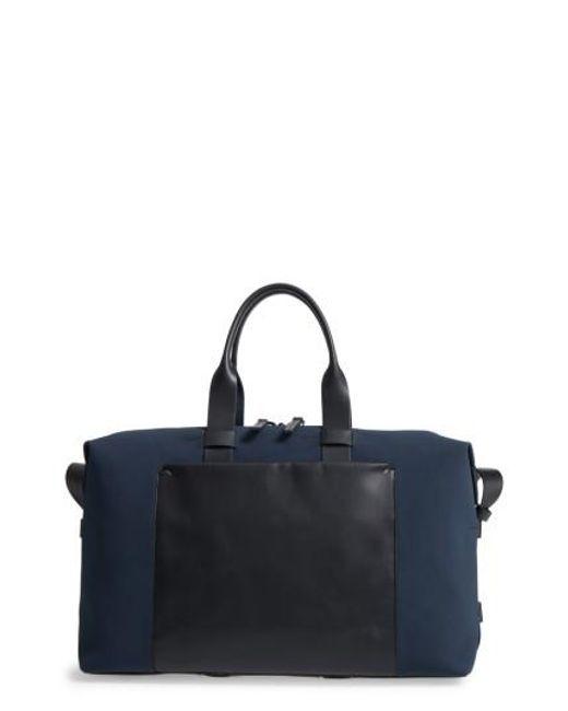 Troubadour   Blue Canvas Duffel Bag for Men   Lyst