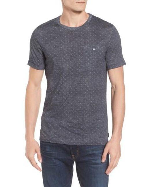 Ted Baker | Purple Giovani Modern Slim Fit Print T-shirt for Men | Lyst
