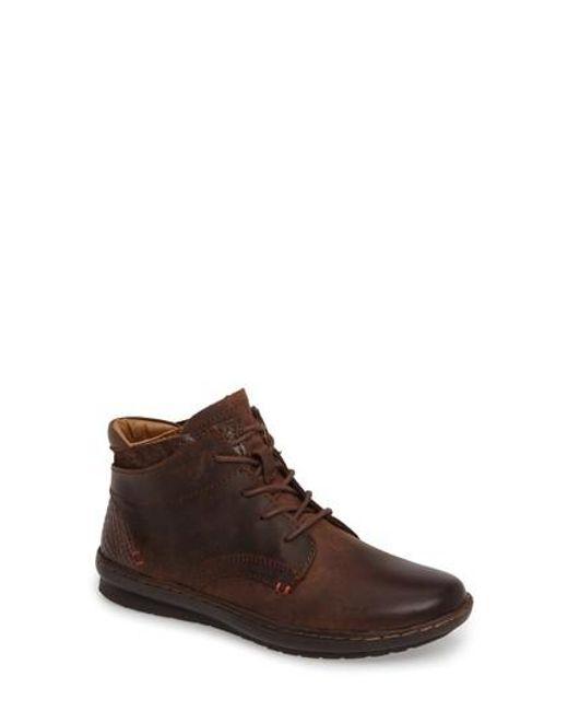Comfortiva | Brown Cascade Sneaker Boot for Men | Lyst