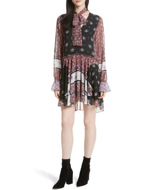 Rebecca Minkoff   Multicolor Fiona Print Shift Dress   Lyst