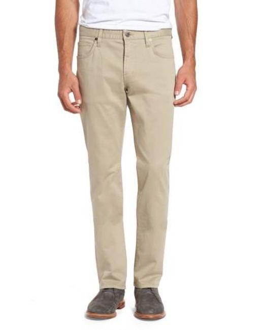 7 Diamonds | Natural Brushed Twill Five-pocket Pants for Men | Lyst