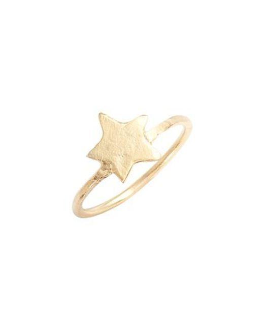 BRITT BOLTON | Metallic Star Ring | Lyst