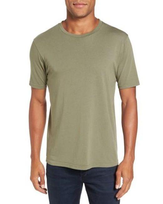 Goodlife | Green Crewneck T-shirt for Men | Lyst