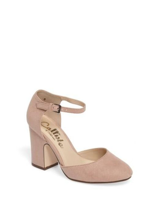 Callisto | Multicolor Indeego Ankle Strap Pump | Lyst