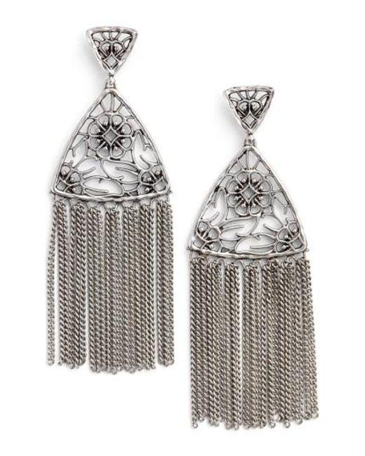 Kendra Scott   Metallic Ana Drop Earrings   Lyst