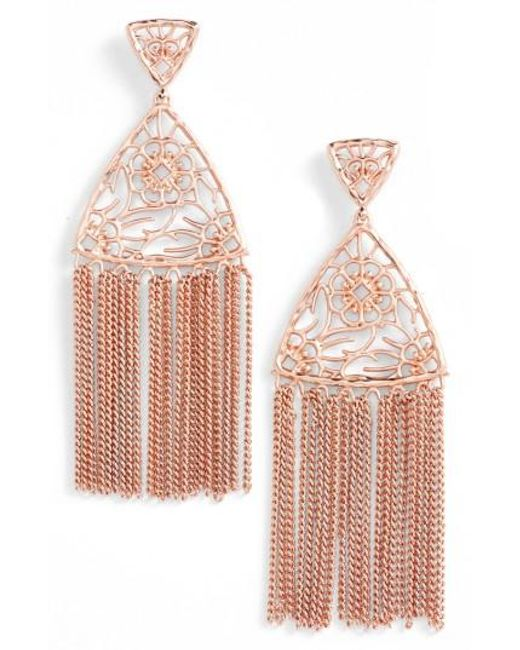 Kendra Scott | Metallic Ana Drop Earrings | Lyst