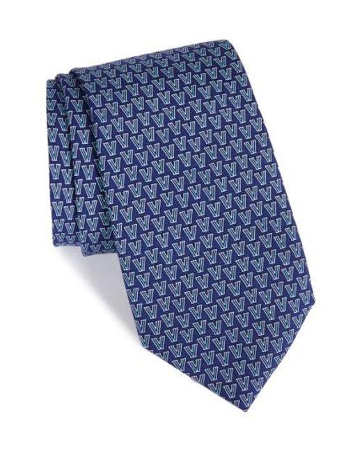 Vineyard Vines | Blue Villanova Silk Tie for Men | Lyst