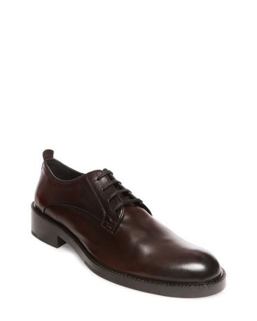 Steve Madden | Brown X Gq Nelson Plain Toe Derby for Men | Lyst