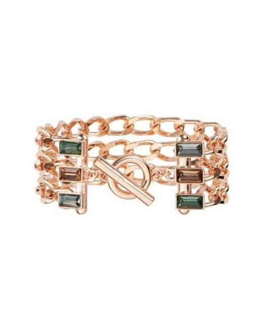 Vince Camuto | Metallic Multistrand Link Bracelet | Lyst
