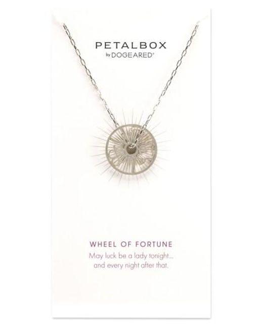 Dogeared | Metallic Petalbox Wheel Of Fortune Pendant Necklace (nordstrom Exclusive) | Lyst
