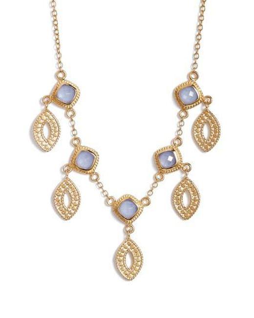 Anna Beck | Metallic Charm Necklace | Lyst
