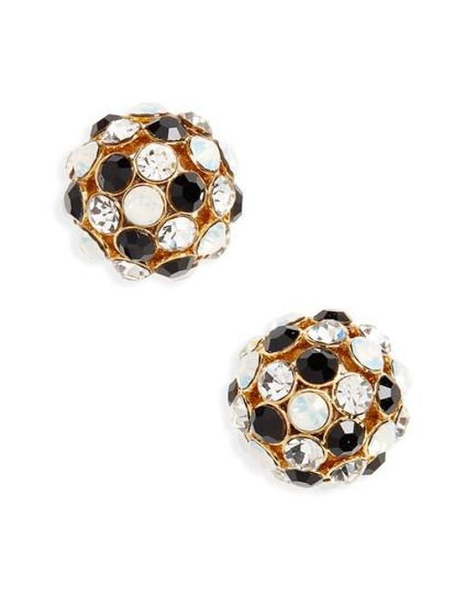 Kate Spade | Metallic Ball Stud Earrings | Lyst