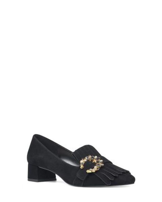 Nine West | Black Wadley Kiltie Pump | Lyst