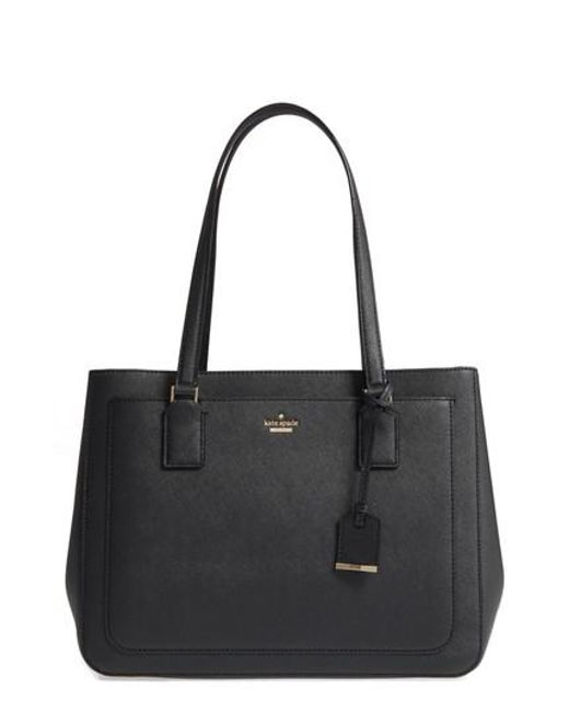 Kate Spade - Black Cameron Street - Zooey Leather Tote - Lyst