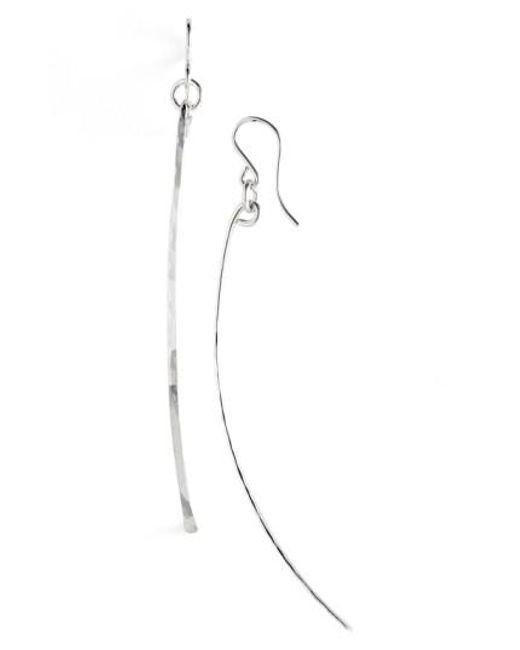 Nashelle   Metallic Ija Twig Drop Earrings   Lyst