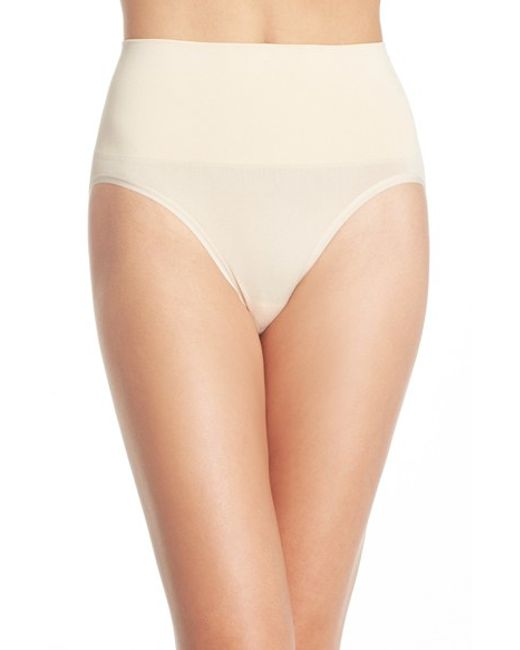Yummie By Heather Thomson | Natural 'nici' Shaping Briefs | Lyst