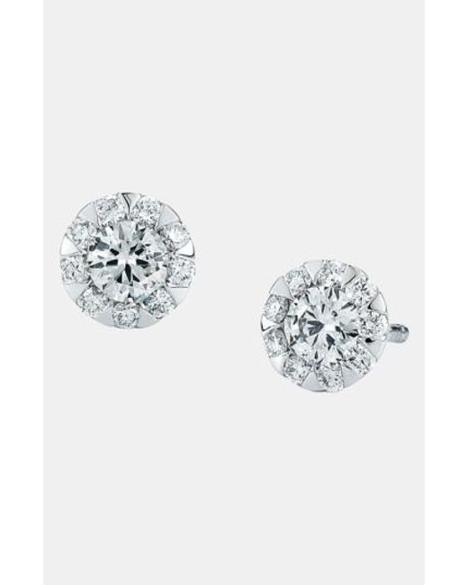 Kwiat | Metallic 'sunburst' Stud Earrings | Lyst