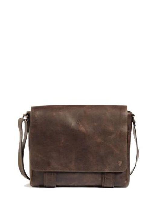 Frye | Brown 'logan' Messenger Bag for Men | Lyst