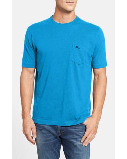 Tommy Bahama - Blue New Bali Sky Pima Cotton Pocket T-shirt for Men - Lyst