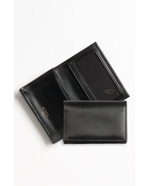 Bosca | Black 'old Leather' Gusset Wallet for Men | Lyst