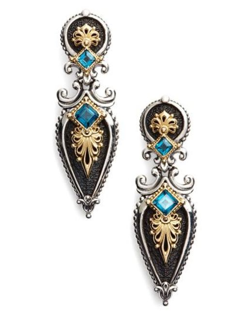 Konstantino | Blue Drop Earrings | Lyst