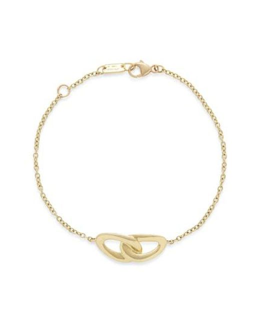 Ippolita - Metallic Cherish Bond 18k Gold Bracelet - Lyst