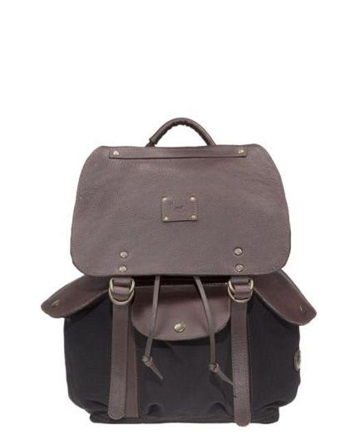 Will Leather Goods | Black 'lennon' Backpack for Men | Lyst