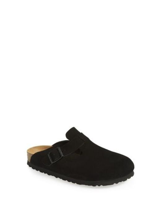 Birkenstock   Black 'boston' Soft Footbed Clog   Lyst