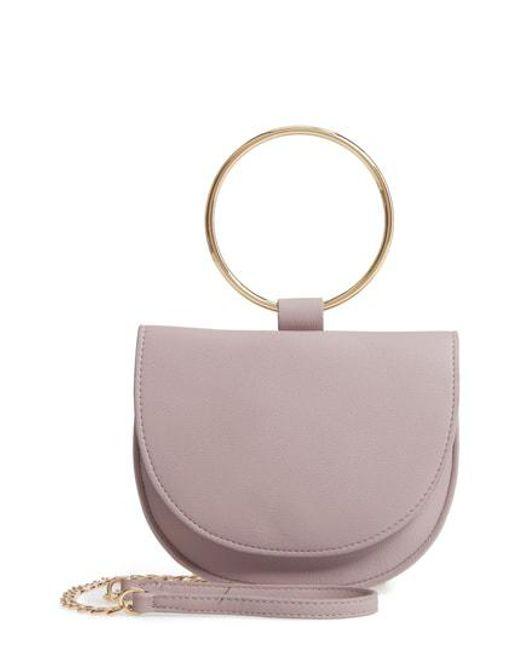 Chelsea28 - Multicolor Reese Ring Crossbody Bag - Purple - Lyst