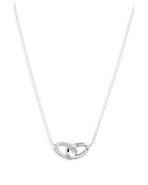 Ippolita - Metallic Cherish Interlocking Pendant Necklace - Lyst