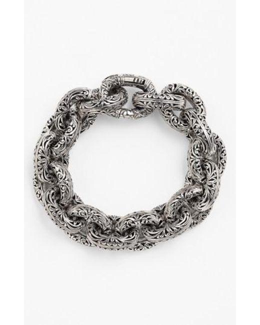 Konstantino - Metallic 'classics' Link Bracelet - Lyst