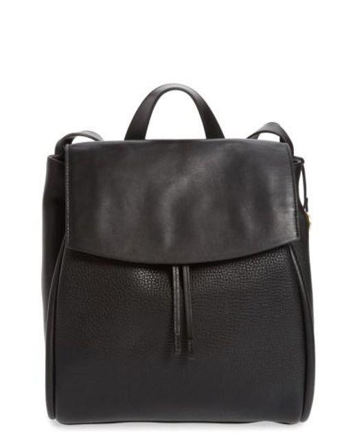 Skagen | Black Ebba Leather Backpack | Lyst