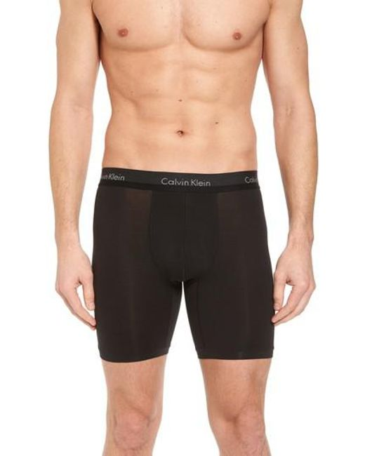 Calvin Klein - Black Boxer Briefs for Men - Lyst