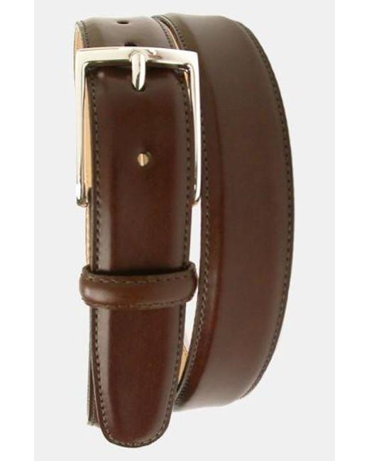 Martin Dingman | Brown 'smith' Leather Belt for Men | Lyst