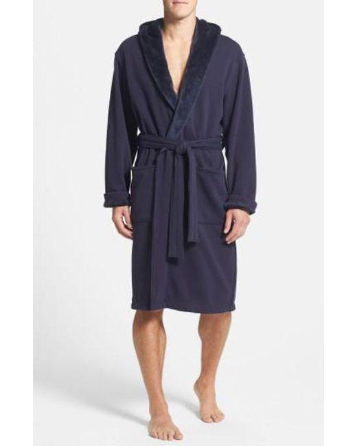 Ugg   Blue Ugg 'brunswick' Robe for Men   Lyst