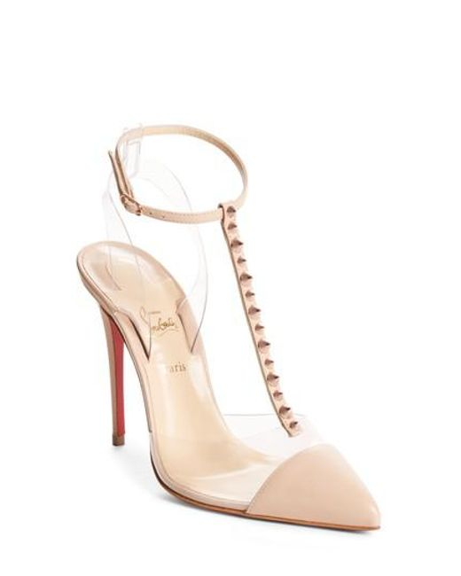 c423bcd47684 ... coupon code for christian louboutin multicolor nosy spikes pvc pump lyst  734c6 402db