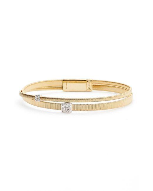 Marco Bicego - Metallic Masai Crossover Diamond Bracelet - Lyst