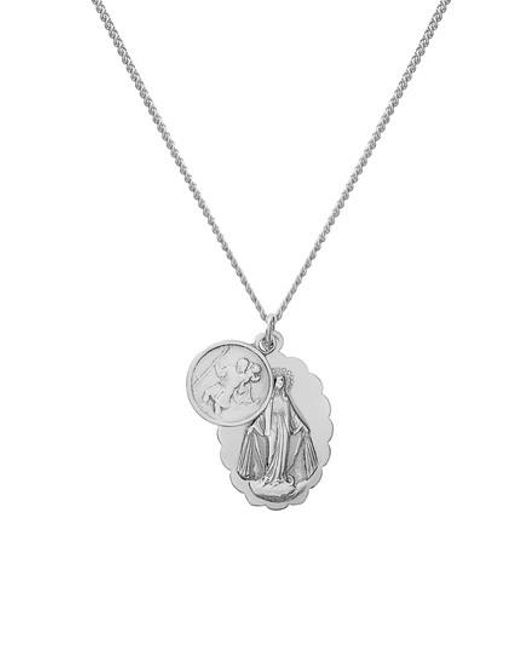 Miansai - Metallic Mini Saints Pendant Duo Necklace - Lyst
